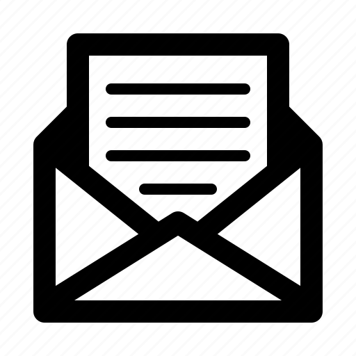 delivery, envelope, letter, mail, postal, service icon
