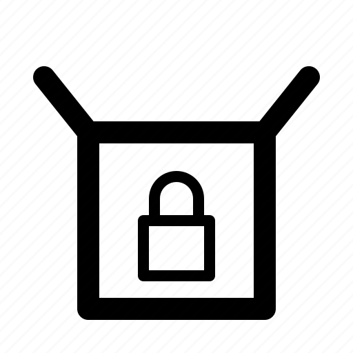 delivery, envelope, mail, package, postal, protect, service icon