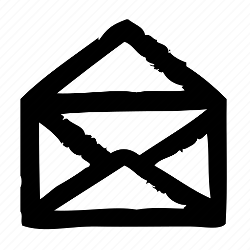 delivery, envelope, mail, open, postal, service icon