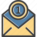 email, letter, mail, message