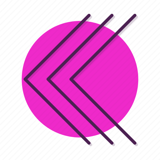 arrow, chevron, slip icon