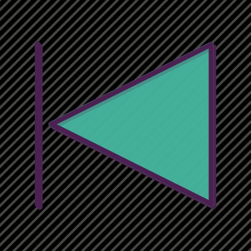 arrow, media, next, player, previous icon