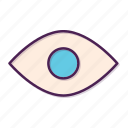 eye, glasses, look, magnifier, magnifying, view icon
