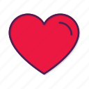 favorite, heart icon