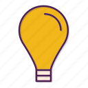 bulb, concept, creativity, idea, imagination, lamp icon