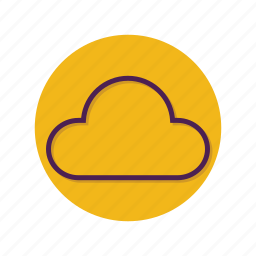 cloud, clouds, cloudy, forecast, wheather icon