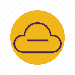 cloud, minus, remove icon