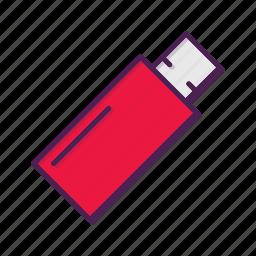 disk, flash, usb icon