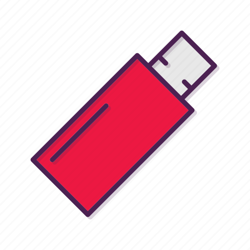 disk, flash, usb icon