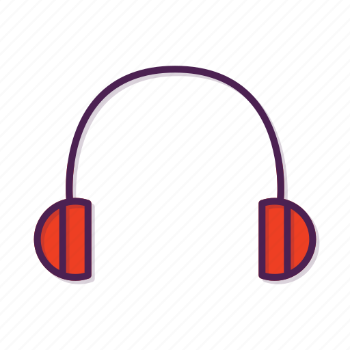 audio, earphone, headphones icon