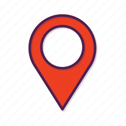 gps, location, marker, navigation, pin, place icon