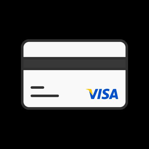 atm card, credit card, debit card, visa card icon