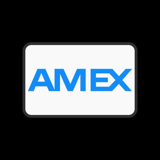american express, amex card, credit card, debit card icon