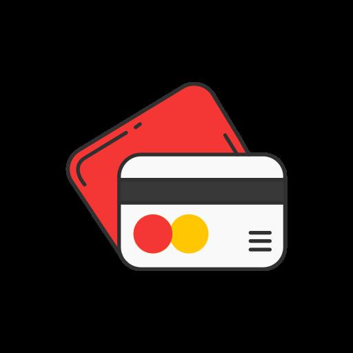card, credit card, debit card, master card icon