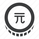 commerce, dollar, new, taiwan, twd icon