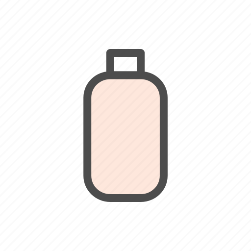 body, bottle, cosmetic, lotion, woman icon