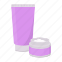 cosmetic, cosmetics, cream, lotion, make-up, spa, tonic icon