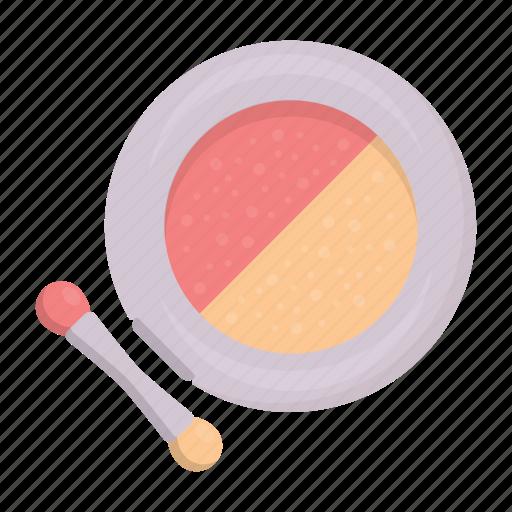 Blush, brush, cosmetics, makeup, paint, powder, tassel icon - Download on Iconfinder
