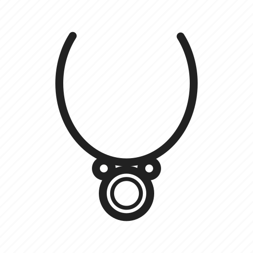 chain, diamond, fashion, gold, jewelry, necklace, necklaces icon