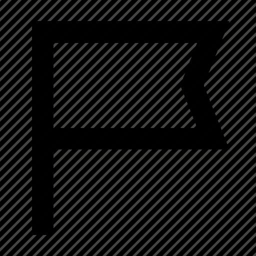 App, bookmark, flag, mark, report, ui, website icon - Download on Iconfinder