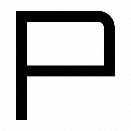 App, flag, mark, report, ui, website icon - Download on Iconfinder