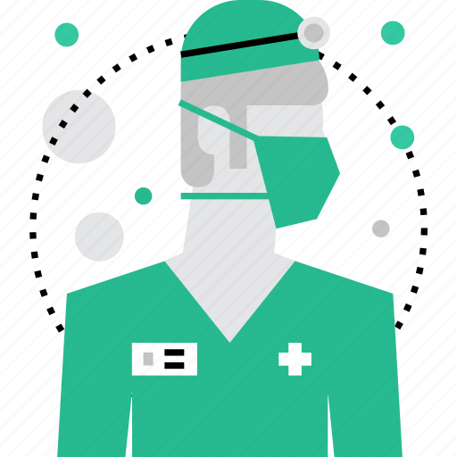 doctor, male, medic, medical, physician, surgeon, therapist icon