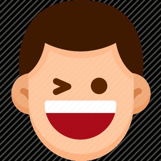 emoji, emotion, expression, face, feeling, happy icon