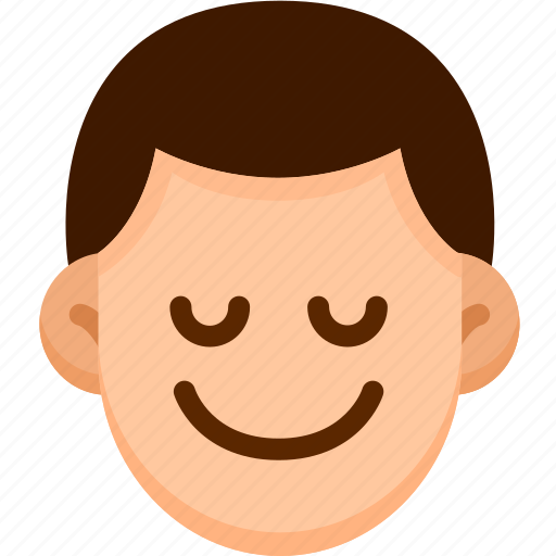 Emoji, emotion, expression, face, feeling, peace icon - Download on Iconfinder