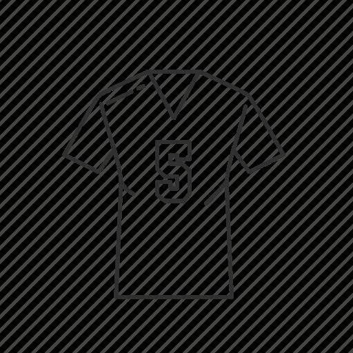 clothes, fashion, jersey, men, shirt, sports, sports jersey icon