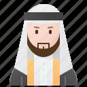 arab, arabian, emirates, man, muslim icon
