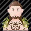 costume, maori, new, tribe, zealand