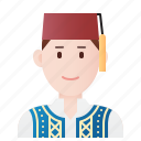 costume, cretan, greece, greek, people