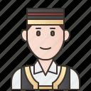 costume, croatia, ethnic, man, traditional