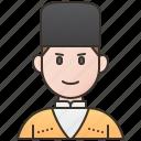 chokha, costume, georgia, man, traditional