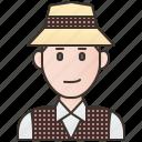 costume, hat, jamaica, man, traditional icon