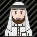 arabic, thobes, arabia, saudi, dress icon