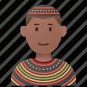 african, cameroon, custom, garment, tribal icon