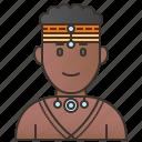 african, indigenous, kenya, kenyans, tribe icon