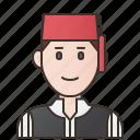 bosnia, bosnians, costume, herzegovina, traditional icon