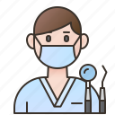 specialist, clinic, orthodontist, dentist, doctor icon
