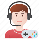 gamer, player, professional, teenager, winner