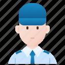 bodyguard, officer, security, staff, uniform