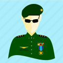 army, badge, gun, military, soldier, war, weapon icon