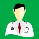 dentist, doctor, medico, murse icon