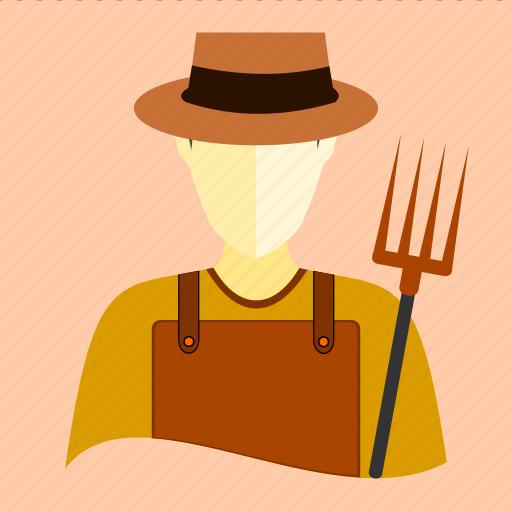 agricultural, corn, cultivator, farmer, gardener, rice, wheat icon