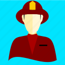 fire, fire brigade, fire company, firefighters icon