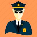 agent, avatar, cop, cowboy, detective, policeman, trooper icon