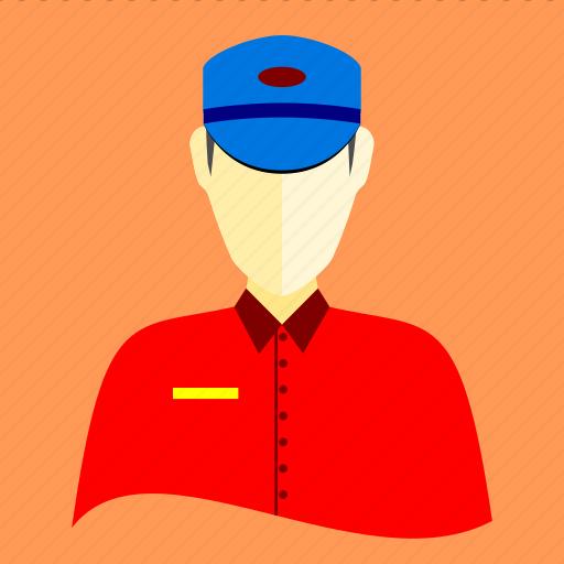 communication, envelope, letter, letter carrier, message, post, postman icon