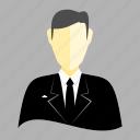 man, professional, tuxedo icon