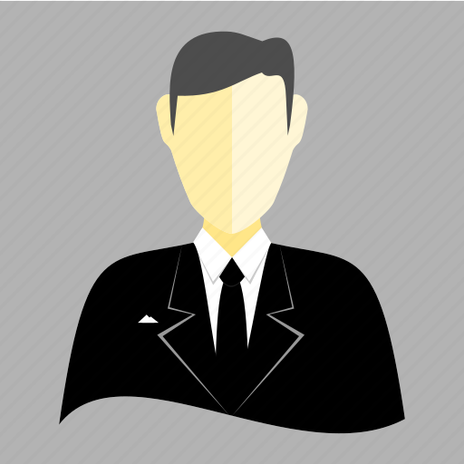 avatar, business, man, professional, profile, tuxedo, user icon